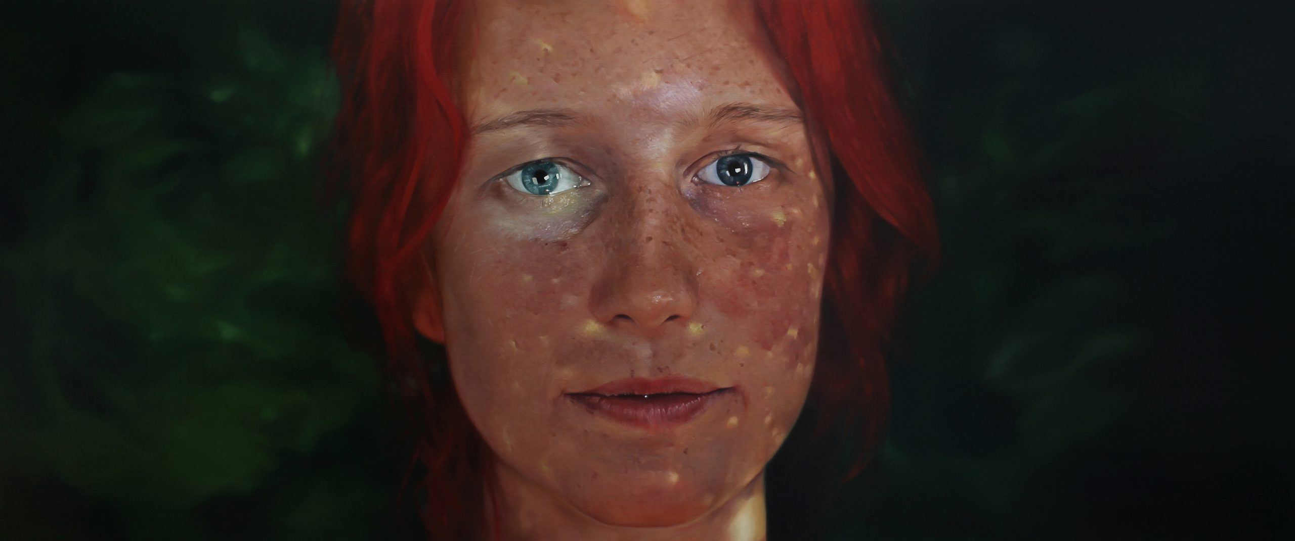 'Mosaic' Oil On Linen, 202 X 84.5cm